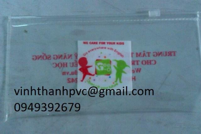 Túi nhựa PVC học sinh