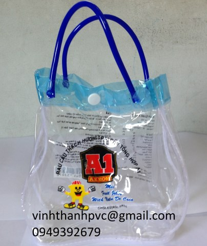 Túi PVC đựng hàng thời trang
