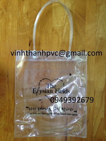 Túi nhựa PVC thời trang