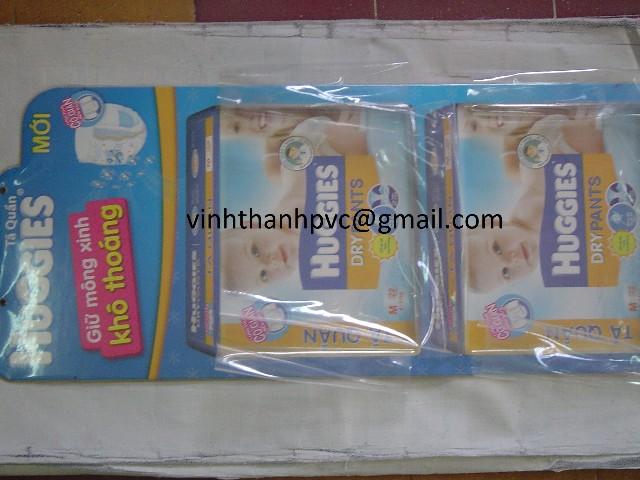 Túi Nhựa PVC Đựng Tã Lót
